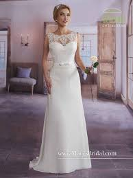 informal wedding dresses marys bridal 2626 informal wedding dress with lace novelty