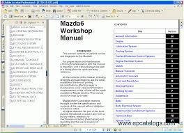 mazda 6 tis repair manual cars repair manuals