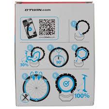 chambre à air valve 80mm b chambre a air 700x18 25 valve presta 80 mm decathlon