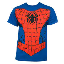 Spiderman Costume Halloween Spiderman Costume Halloween Blue Graphic Tshirt Superheroden
