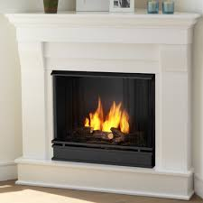 Real Fire Fireplace by Real Flame Chateau Corner Gel Fuel Fireplace U0026 Reviews Wayfair