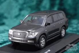 original land cruiser kyosho original 1 64 toyota landcruiser 200 gray metallic