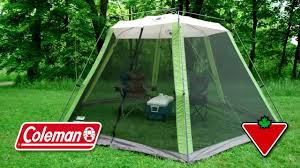 Gazebo Screen House Kit by Camping Tents Pro Shade Instant Canopy 10x10 With Coleman 10x10