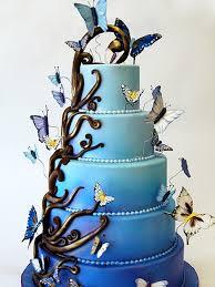 amazing wedding cakes wedding cakes amazing blue wedding cake