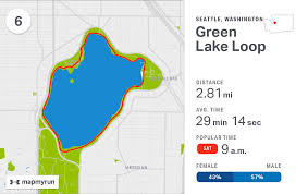Map Of Greenlake Seattle by Run The World The Top 20 Running Routes In America Mapmyrun
