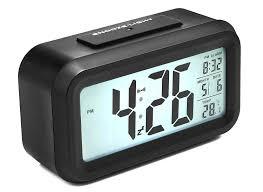 Alarm Clock With Light On Ceiling Amazing Battery Alarm Clock For Sharp Spc464 Mini Digital Operated