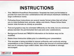 directions use this powerpoint template to create your own