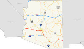 University Of Arizona Map by Interstate 10 In Arizona Wikipedia