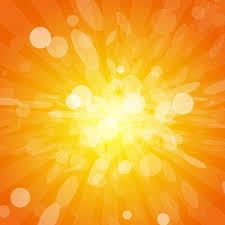 orange lights vector background freevectors net