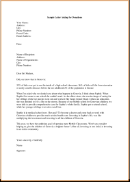 Business Letter Sample Request by Sample Letter Asking For Donations Thebridgesummit Co