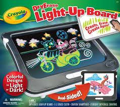 Light Up Drafting Table Amazon Com Crayola Dry Erase Light Up Board Toys U0026 Games
