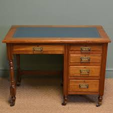 Small Walnut Desk Arts And Crafts Small Walnut Antique Desk C 1900