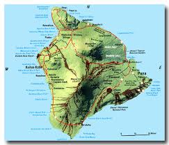 map of hawaii big island hawaii big island best hawaiian beaches