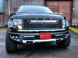 Led Light Bar Police by Ford F 150 Raptor Grille Rds Rigid Life