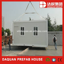 buy prefab shipping container homes in daquan ligh steel frame