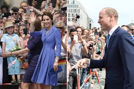 william and kate thousands swarm to greet prince william and kate in berlin the local