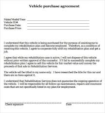 car purchase agreement templates word excel samplespurchase