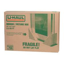Extra Space Storage Boxes U Haul Mirror Picture Box