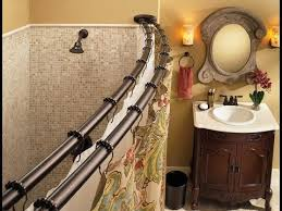 Short Curtain Rods For Decoration Double Curtain Rod Double Shower Curtain Rod Ideas Youtube