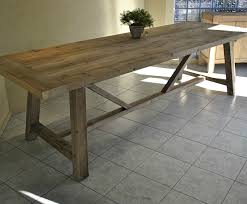 large french provincial style recycled timber refectory dining