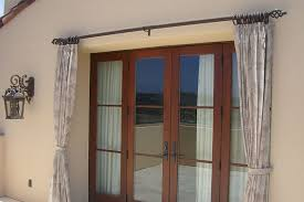 Roller Shades With Curtains Patio Draperies Window Shades Window Coverings Irvine Wood