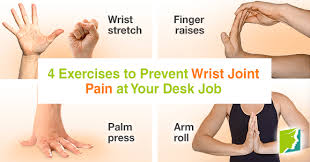 exercises to do at your desk 4 exercises to prevent wrist joint pain at your desk job png