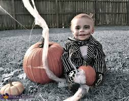 Jack Pumpkin King Halloween Costume Toddler Jack Skellington Costume Photo 3 3
