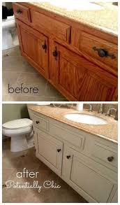 paint bathroom vanity ideas the average diy s guide to painting cabinets paintings paint