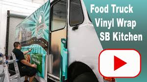 food truck vinyl wrap time lapse for southbound kitchen by star