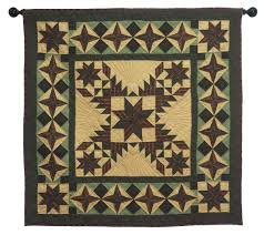 Christmas Rug Christmas Star Quilt Country Quilts By Choice Quilts