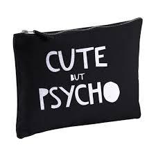 cute but psycho pencil case or make up bag la la land