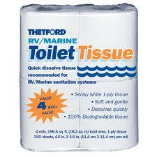 thetford quick dissolve rv toilet paper thetford 20804d toilet