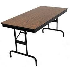 18 x 72 folding table barricks adjustable height folding table 18 x 72 110 2p