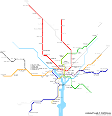 Boston Metro Map Washington Metro Map Travelsfinders Com