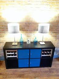nornas sideboard hack my diy wine buffet this is an ikea hack of the expedit shelf