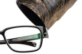 Unique Glasses by Monoceros A Unique Piece For Your Eyes From A Single Piece Of Horn