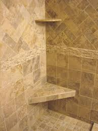 bathroom wall tiling ideas diagonal black slate floor mixed shower brown ceramic tile iranews