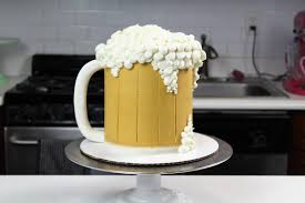 budweiser beer cake beer mug cake chelsweets
