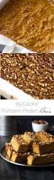 Skinnytaste Pumpkin Pie by Pumpkin Protein Bars Food Faith Fitness