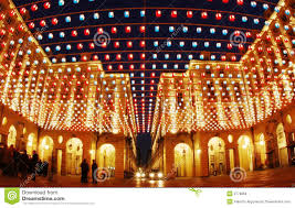 artistic lights buildings stock image image of travel 3776869