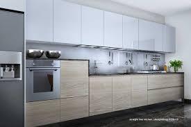 Straight Line Kitchen Designs Posh Design Bangalore Contemporary Kitchen Modular Kitchen
