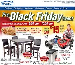 furniture stores black friday pre black friday sale complete with doorbusters rc willey