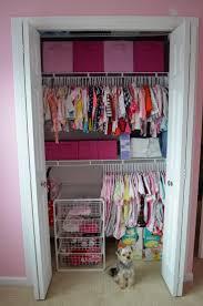interior magnificent pink baby closet organizer decoration with