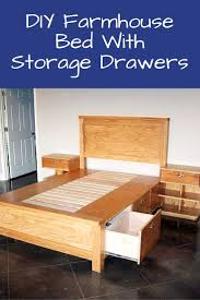 Bed Frame With Storage Plans Best 25 Beds With Storage Drawers Ideas Only On Pinterest Bed