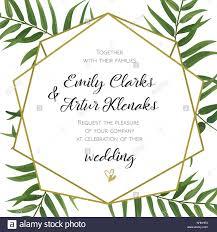 marriage invitation card design wedding invitation floral invite card design with green tropical