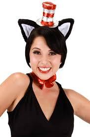 Cat Hat Halloween Costume Dr Seuss Cat Hat Tutu Costume Xl Purecostumes