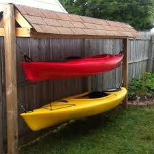 diy storage rack two kayaks bing images garden chic projects