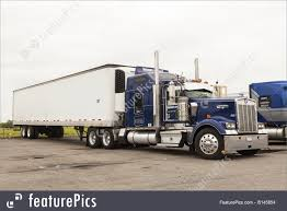kenworth tractor trailer classic kenworth semi truck in the usa photo