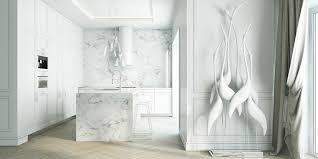 white interiors homes designs by style marble fireplace 4 beautiful homes with a