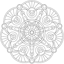 coloring page free printable coloring pages for adults geometric